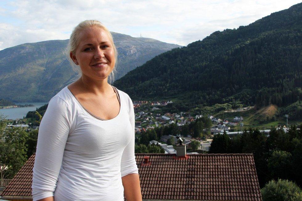 MJUK START: Linn Marit Aas og fadrane skal hjelpa ferske studentar inn i studentlivet.