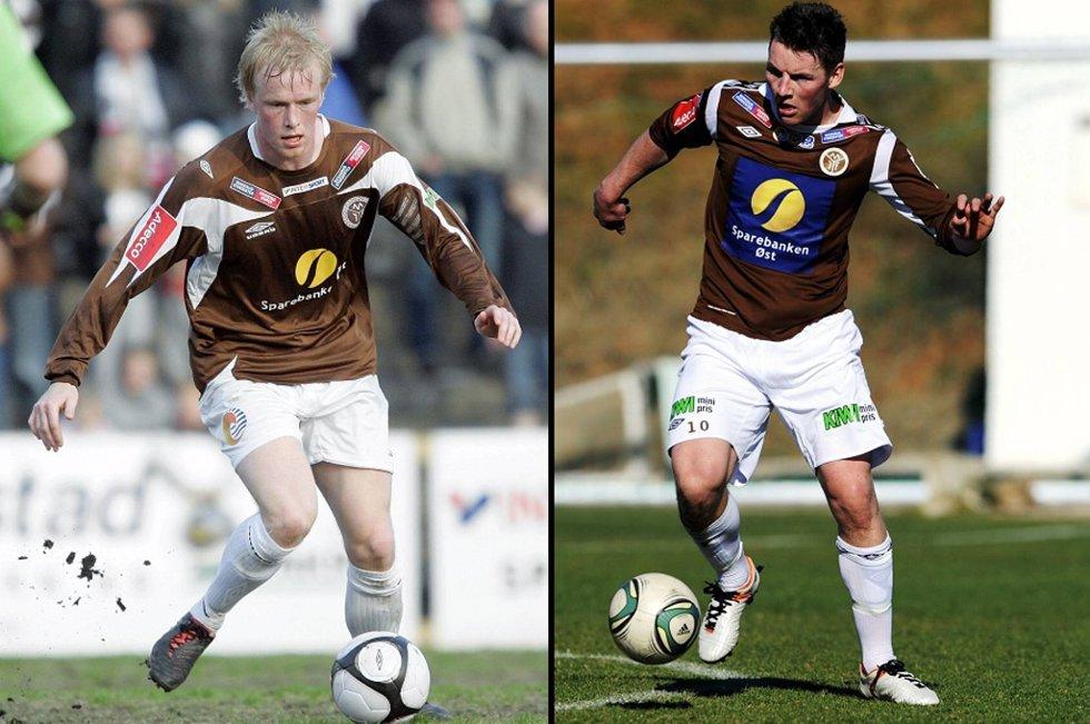 Erik Midtgarden (t.v.) og Pål Alexander Kirkevold tok ansvar i fraværet av eliteseriekamper i helgen.