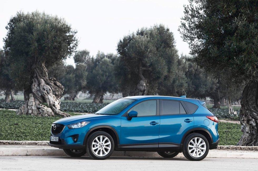 Mazdas nye SUV er en populær bil.