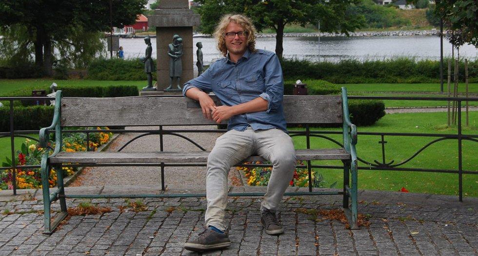 Fredrik Brattberg er en av de nominerte til årets Ibsenpris.