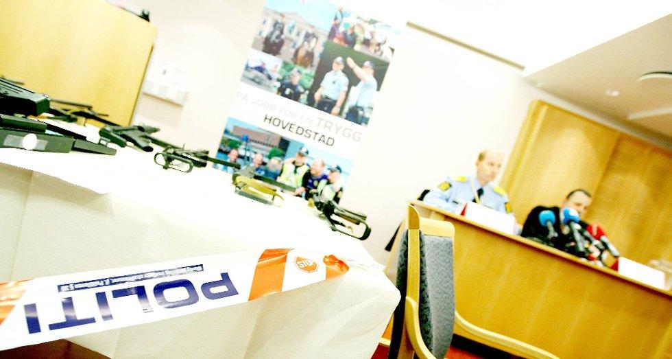 Oslo-politi går offensivt ut mot gjengkriminaliteten i Oslo.