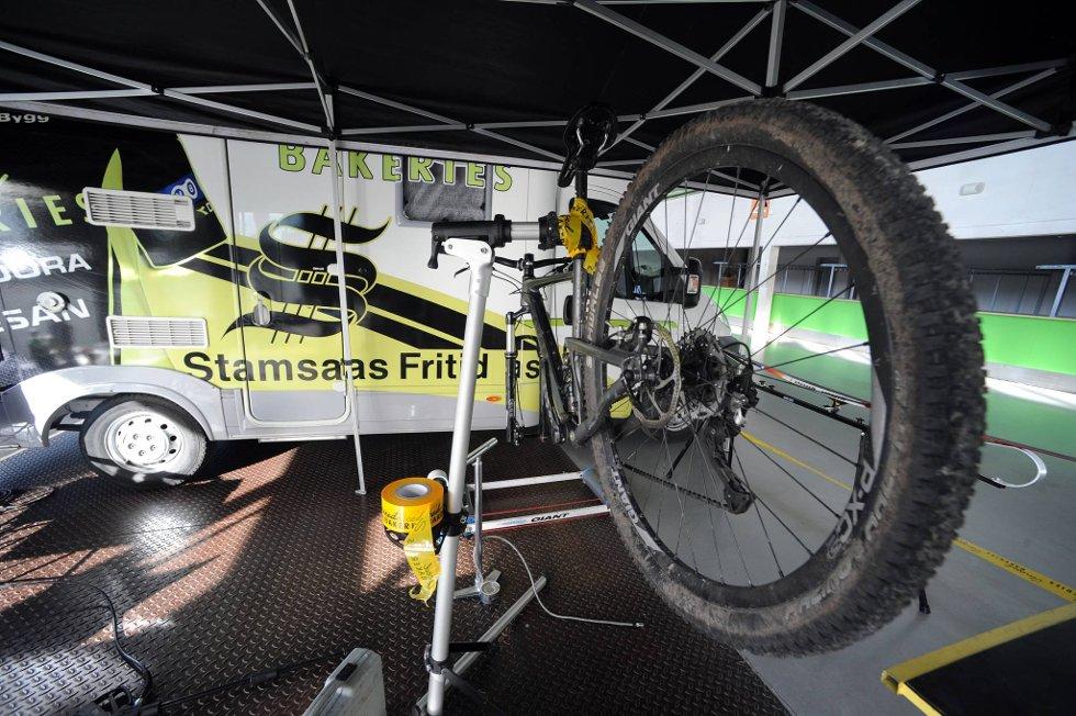 Sykkel og bobil: Nå vil brikebeinerne også ha bobil.