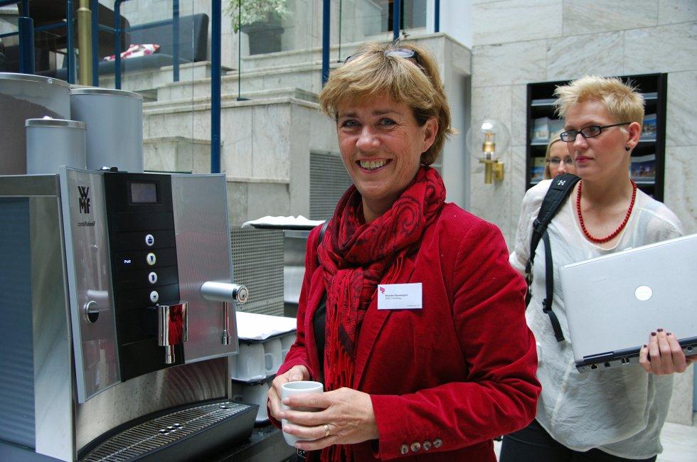 NHO-leder Merethe Storødegård har fått med seg alle Arena-konferansene.