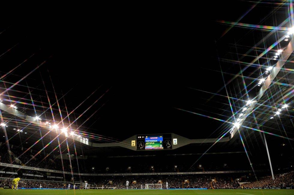 Under kampen mellom Tottenham og Lazio skal bortesupportere har kommet med rastiske tilrop.