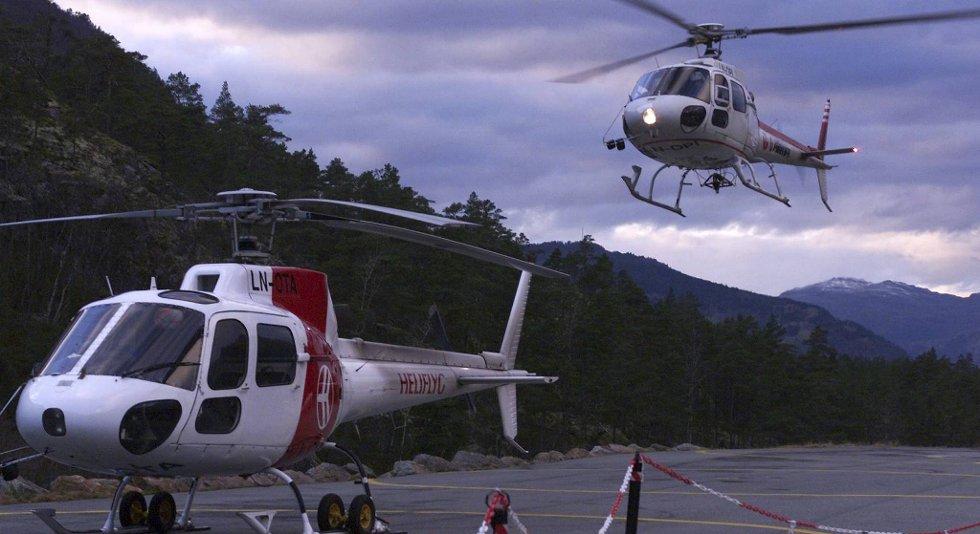 Airlift-basen i Kinsarvik