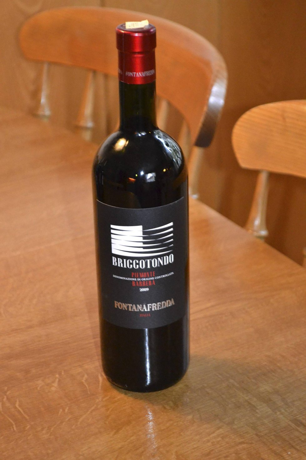 Briccotondo. Rødvin