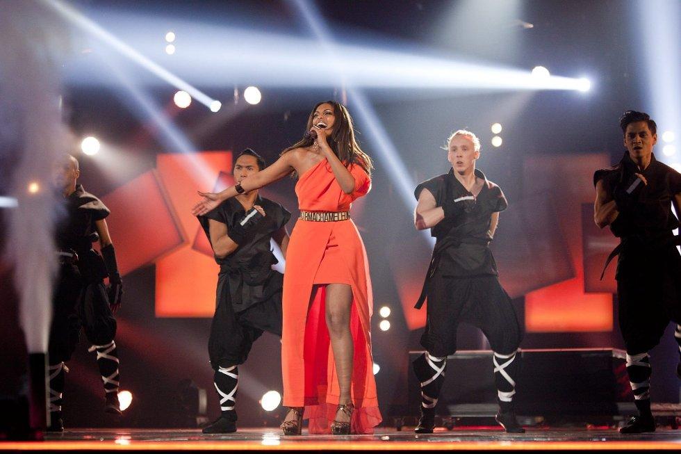 Melodi Grand Prix 2013                 Arena Larvik                                  FOTO: PEDER TORP MATHISEN *** Local Caption *** (Foto: )