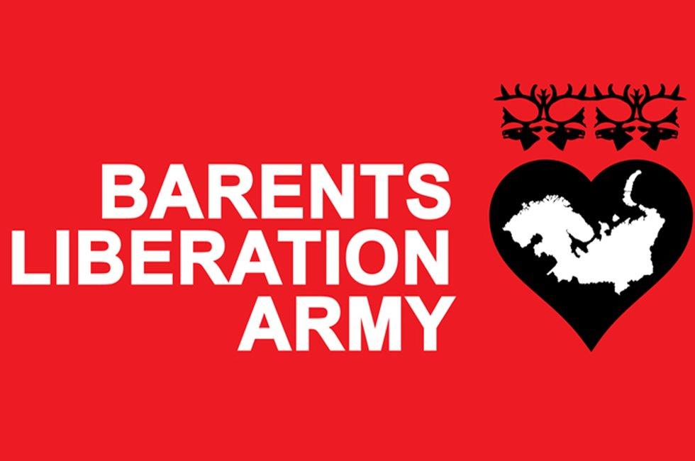 En av flere logoer til Barents Liberation Army.