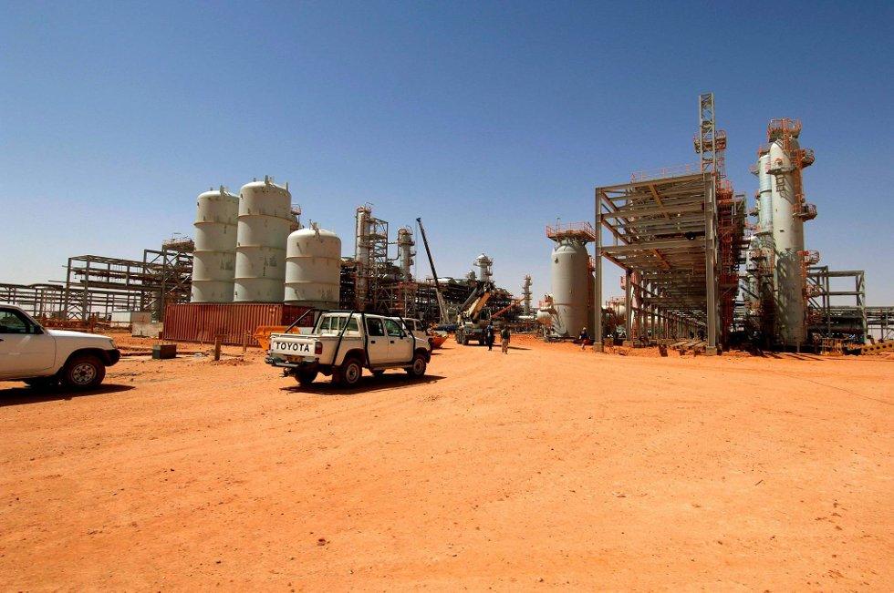 OPPSTART: Gassanlegget In Aménas i Algerie er startet opp igjen etter terroraksjonen for en drøy måned siden. Foto: Kjetil Alsvik / Statoil / NTB scanpix