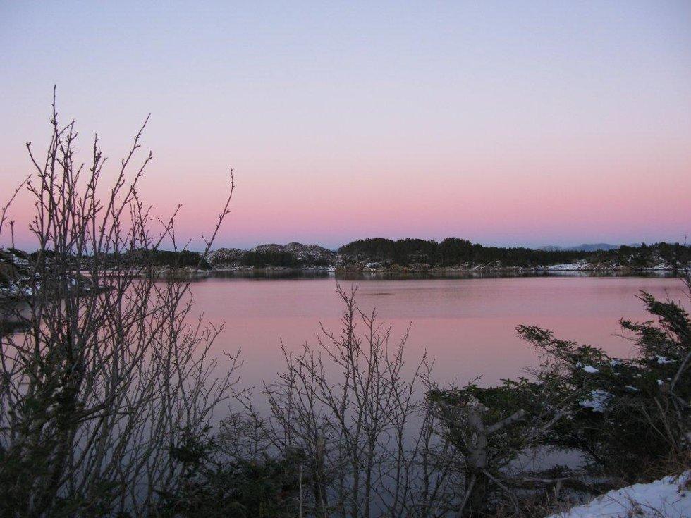 Øyane i Austrheim kommune / Vinterdvale (Foto: Marit Øksnes)