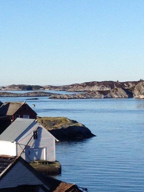 Her er et bilde fra Torsvik i Øygarden. Bildet er tatt i vinterferien. (Foto: Svein Inge Torsvik)