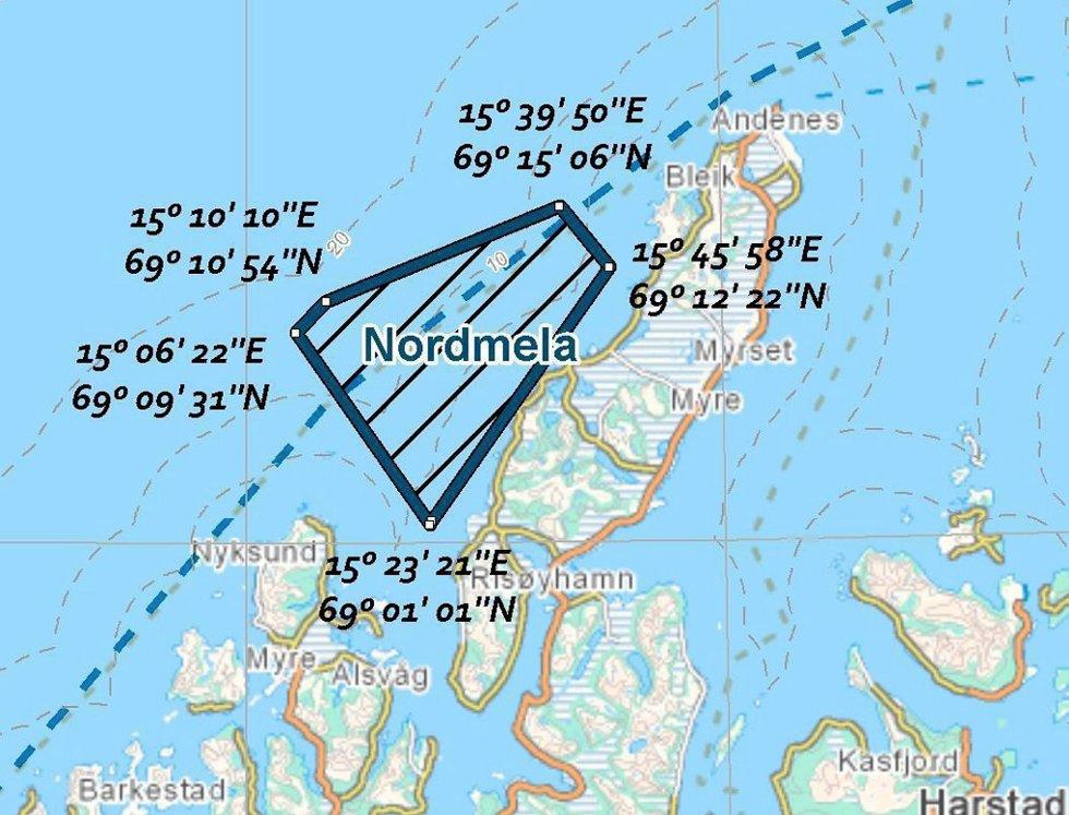 NVE fraråder havvindmøller utafor Nordmela.