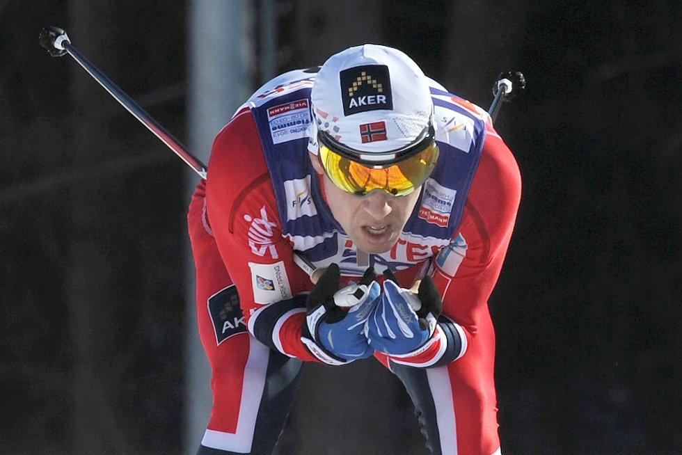 Eldar Rønning går ikke femmila i Holmenkollen.