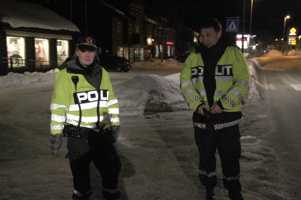 Stoppet: Politiet stoppet en mann som kjørte uten førerkot i Rennebu natt til torsdag.