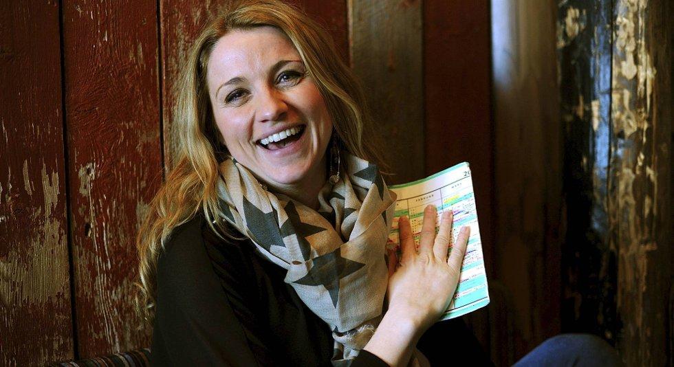 May Lisbeth Myrvang er Lotto-programleder på NRK.