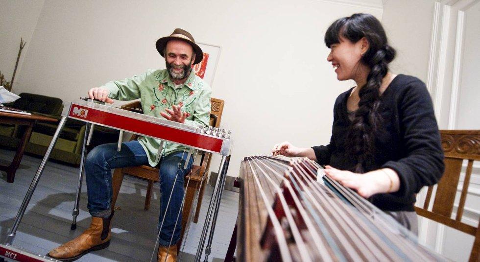 Forførende og drømmende verdensmusikk fra HP Gundersen og blant annet Yuyue Zheng på guzheng.