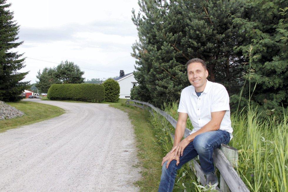 FORANDRET: Livet i Undis Blikkens veg er ganske annerledes nå enn da Finn Halvor Karlstad vokste opp der.