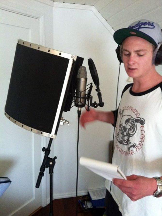 SOUNDBAZ: Bastian Alstad i Soundbaz. FOTO: PRIVAT