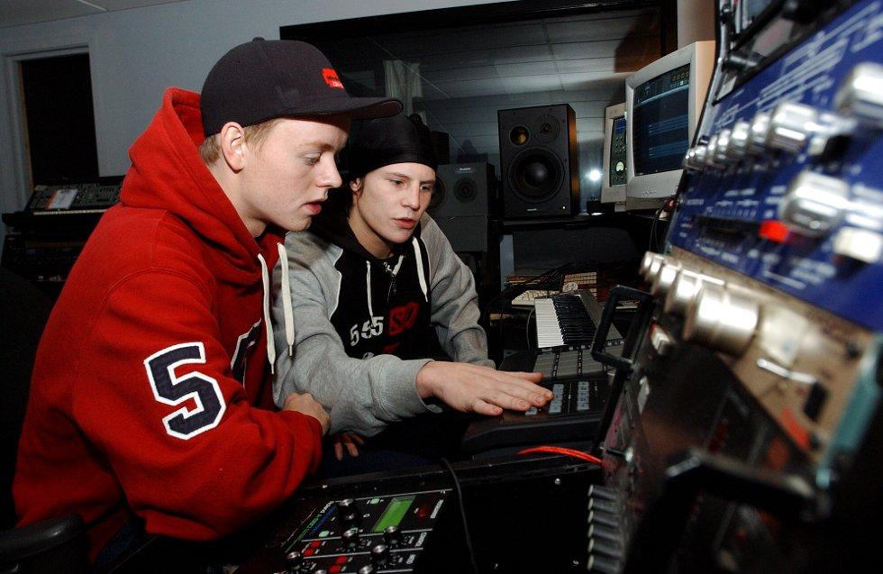DEN GANG DA: Jaa9 og Onkl P flyttet til Oslo for å konsentrere seg om musikken i 2003.
