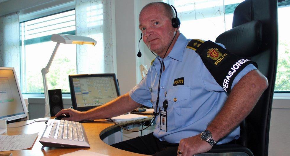 Operasjonsleder Gunnar Hanssen ved Telemark politidistrikt.