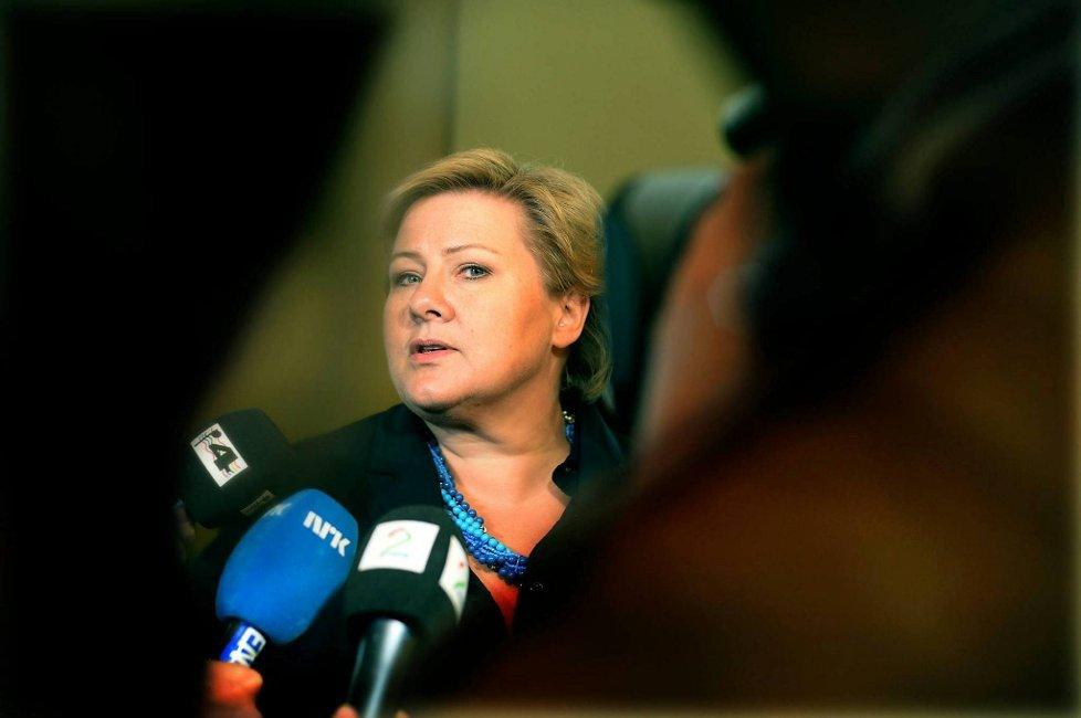 """- Jeg er veldig glad for at jeg har fått """"audiens"""" i statsministerens tette program i Hedmark og Oppland tirsdag.Litt etter klokka 16.00 skal jeg møte statsministeren på Rica Hotell utafor Hamar, sier Berit Nordseth Moen."""