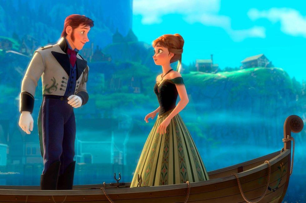 Hans og Anna i «Frost» får norske stemmer av henholdsvis Anders Baasmo Christiansen og May Kristin Kaspersen.