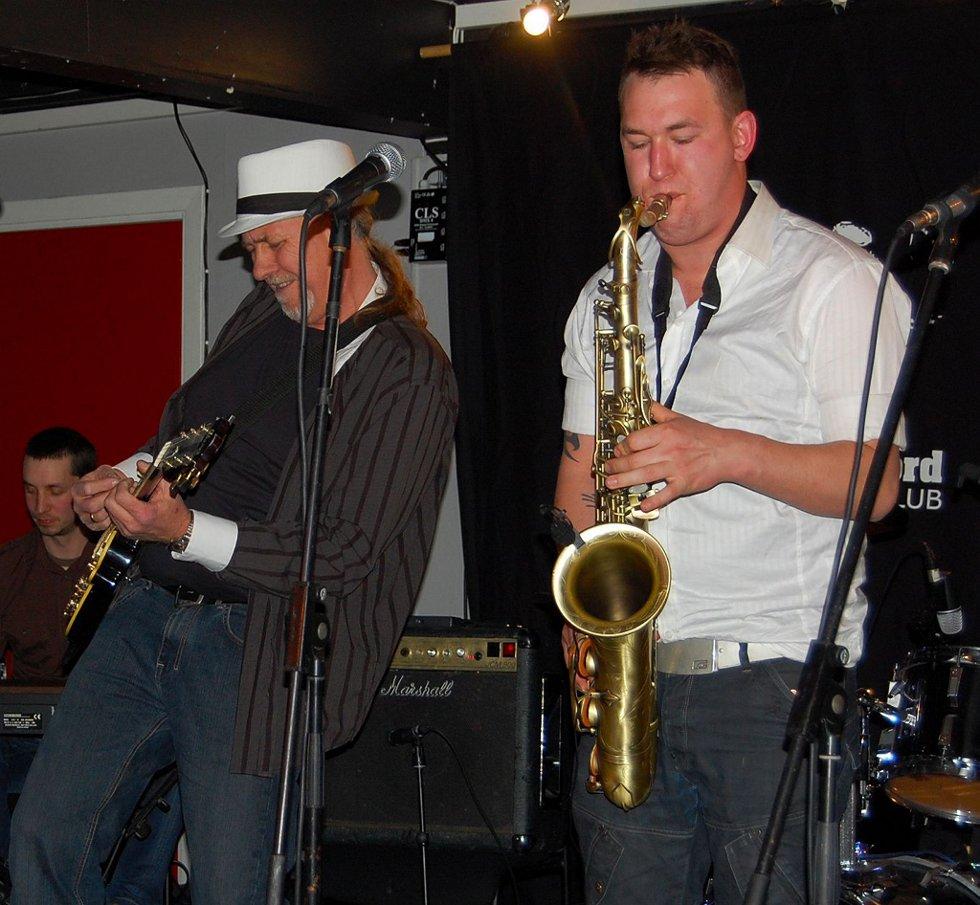 Blues: Jevnaker blueslag spiller på Glassheim i kveld.Arkivfoto