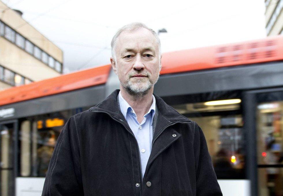 Paul M. Nilsen, sjef i Bybanen AS.