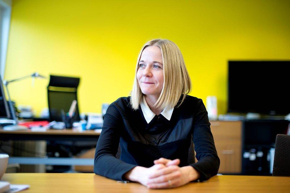 Karin Hindsbo ved KODE.