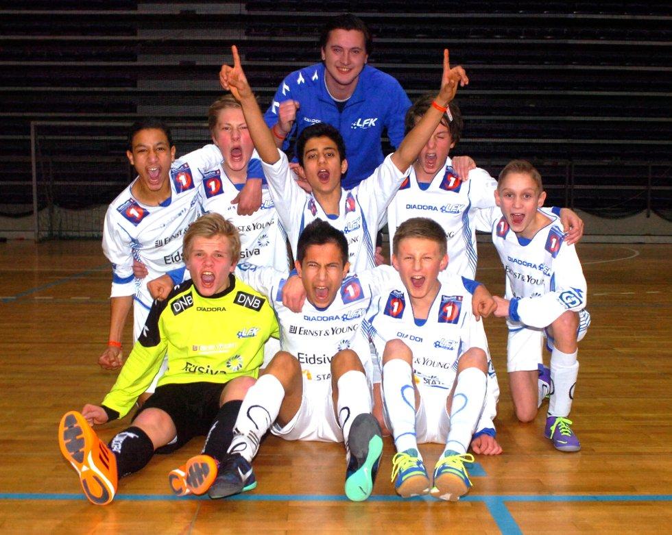LFK G14 vant Lillehammer Cup 2014