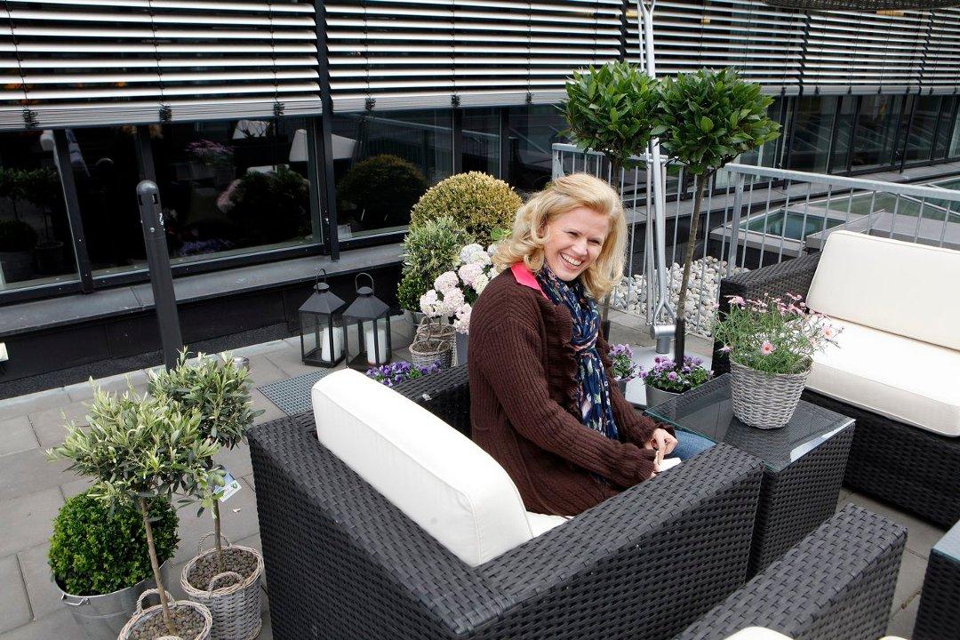 Budstikka   slik lager du deg en oase på terrassen