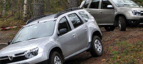 Renault-importøren tester ut Dacia Duster under norske forhold.