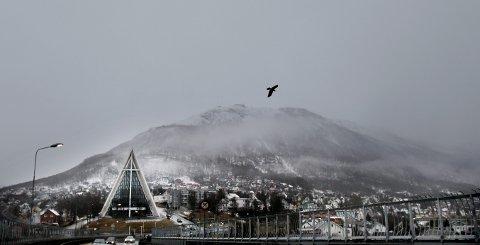 Ishavskatedralen er med sin spesielle form blitt et velkjent symbol på Tromsø.