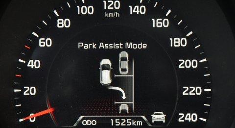 Stor utstyrspakke inneholder parkeringshjelp.