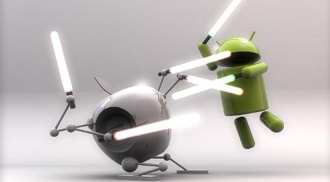 Android eller Apple. Tross stadig flere konkurrenter biter Apple fortsatt fra seg.