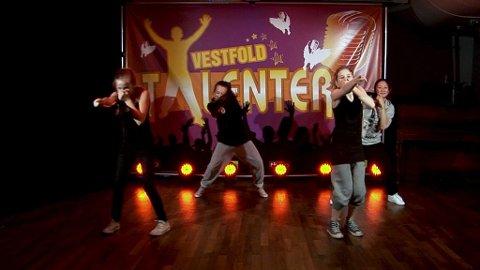 Dansegruppa fra Tønsberg og Nøtterøy leder foreløpig Vestfoldtalentene, men ingenting er avgjort ennå.