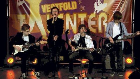 KONSERTKLARE: Trolley Rockers er klare for å spille live på Brygga.