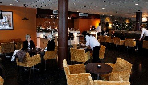 GAMMEL KANTINE: Restauranten åpnet i høst i det som tidligere var kantinen til de ansatte i Kommunegården.