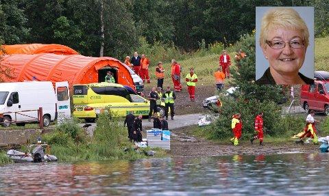 Ragnhild Lervik Johansen (innfelt), Ap-politiker og varaordfører i Vestby kommune, er rystet over terrorangrepene på Utøya og i hovedstaden.