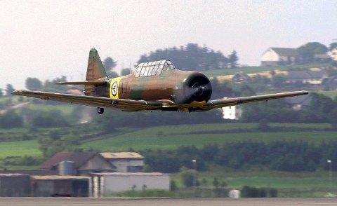 North American Harvard er en to seters treningsjager som var 2. verdenskrigs mest populære og anvendte skolefly for jagerflygere.