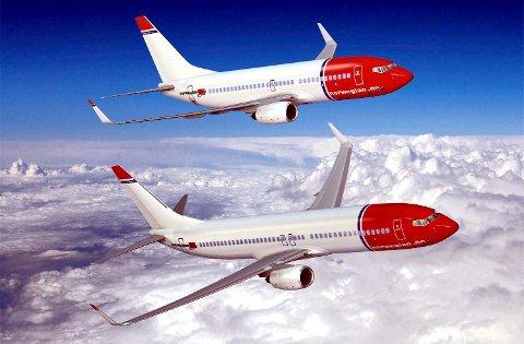 Norwegian utvider tilbudet sitt fra MLR.