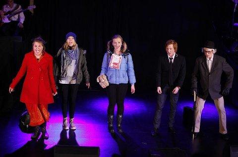 Premiere på Nadderudrevyen 2010: HVA HVIS.... FOTO: KNUT BJERKE