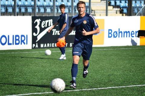 Jarl-André Storbæk mente selv han hadde «ståltouch» på sin første trening med SIF onsdag. Nå gleder han seg til å komme skikkelig i gang i sin nye klubb.