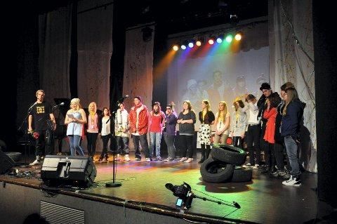 blir kino: 12. januar blir det kino i Moelv kulturhus. Her fra UKM-mønstringen i fjor. Foto: Arkiv
