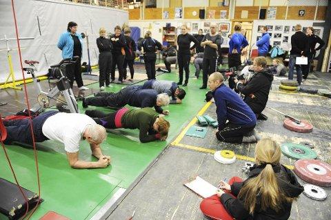 Testresultatene fra den aller første økten er utgangspunktet for «The Plank Challenge».