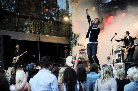 Rockeren Atle Pettersen spilte på åpningsdagen 23. mai.