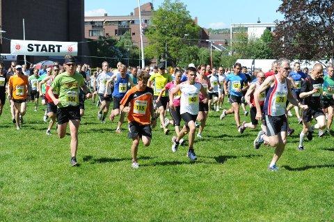 Årets Sandefjordsløp samlet 635 deltakere, som enten løp fem eller ti kilometer, Her er noen av dem som løp den lengste løypen.