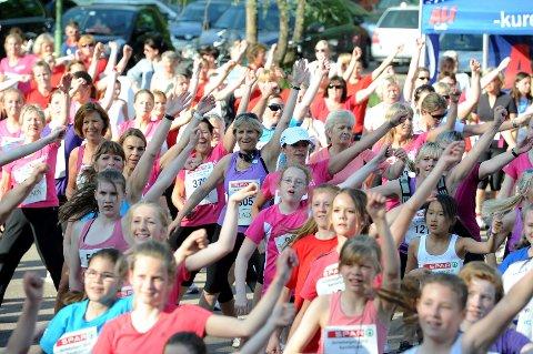 Hele 598 jenter deltok da Runar for åttende gang arrangerte Jentebølgen.