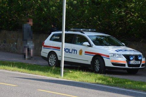 En mann ble arrestert etter å ha gjort skadeverk og drapstruet kjæresten.