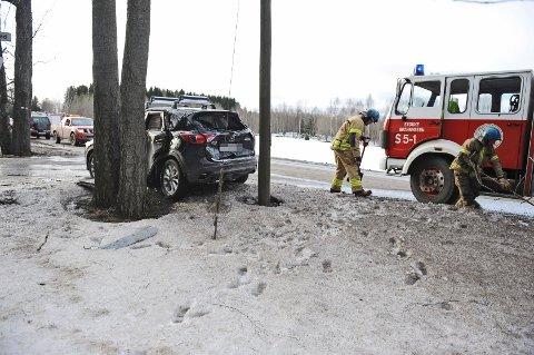 To biler kolliderte mandag ettermiddag på gamle E18.